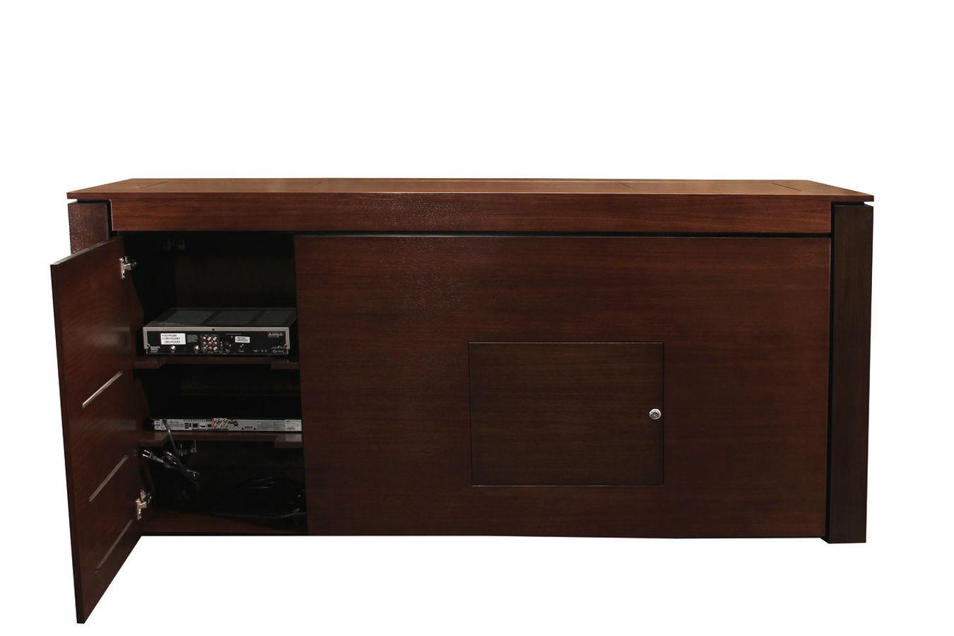 Retractable tv cabinet retractable tv stand modern buffet - Retractable tv cabinet living room furniture ...