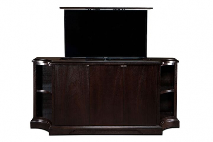 Carlton Credenza TV Lift Cabinets For Flat Screens