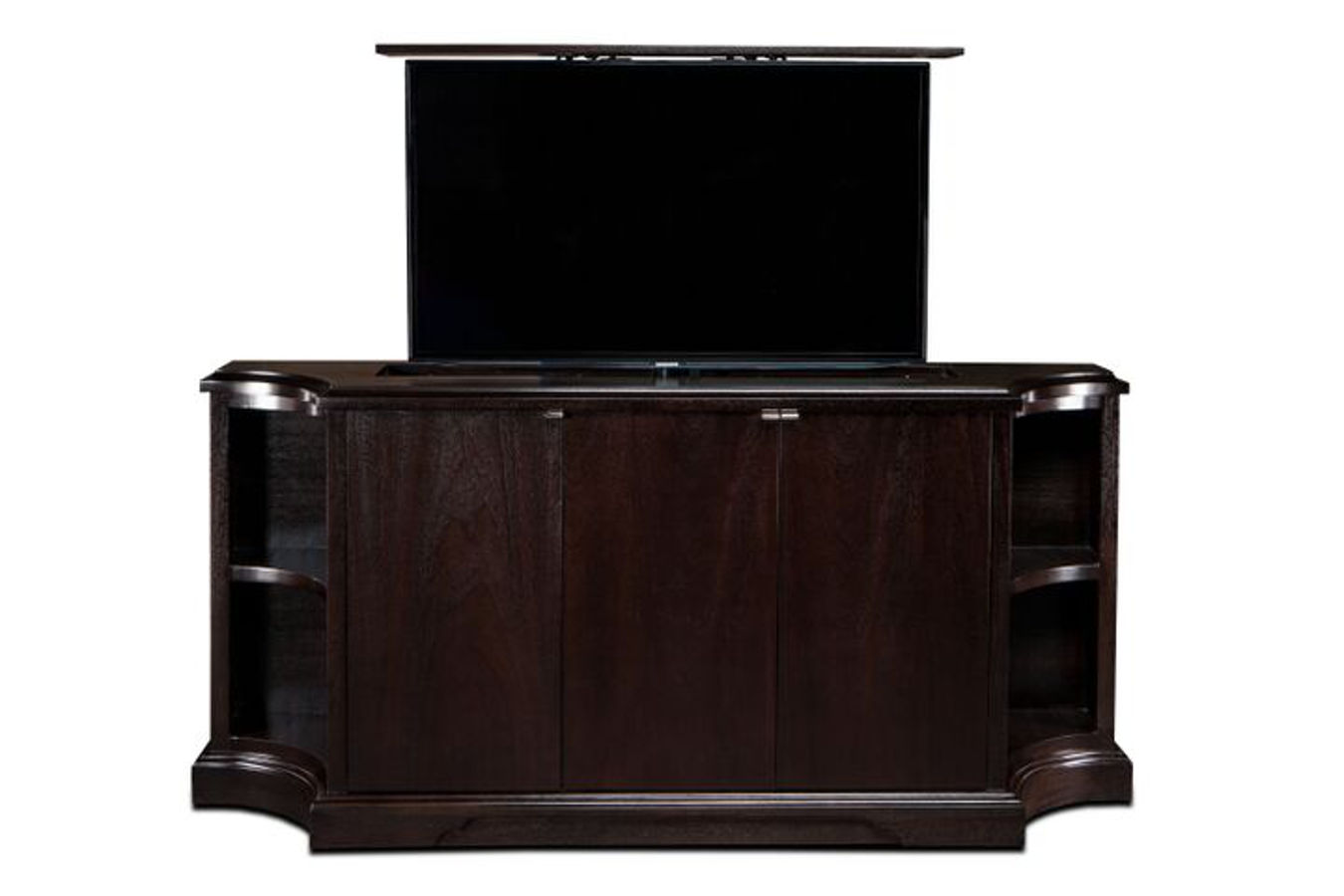 Carlton TV lift furniture by Cabinet Tronix, is perfect for living room and bedrooms