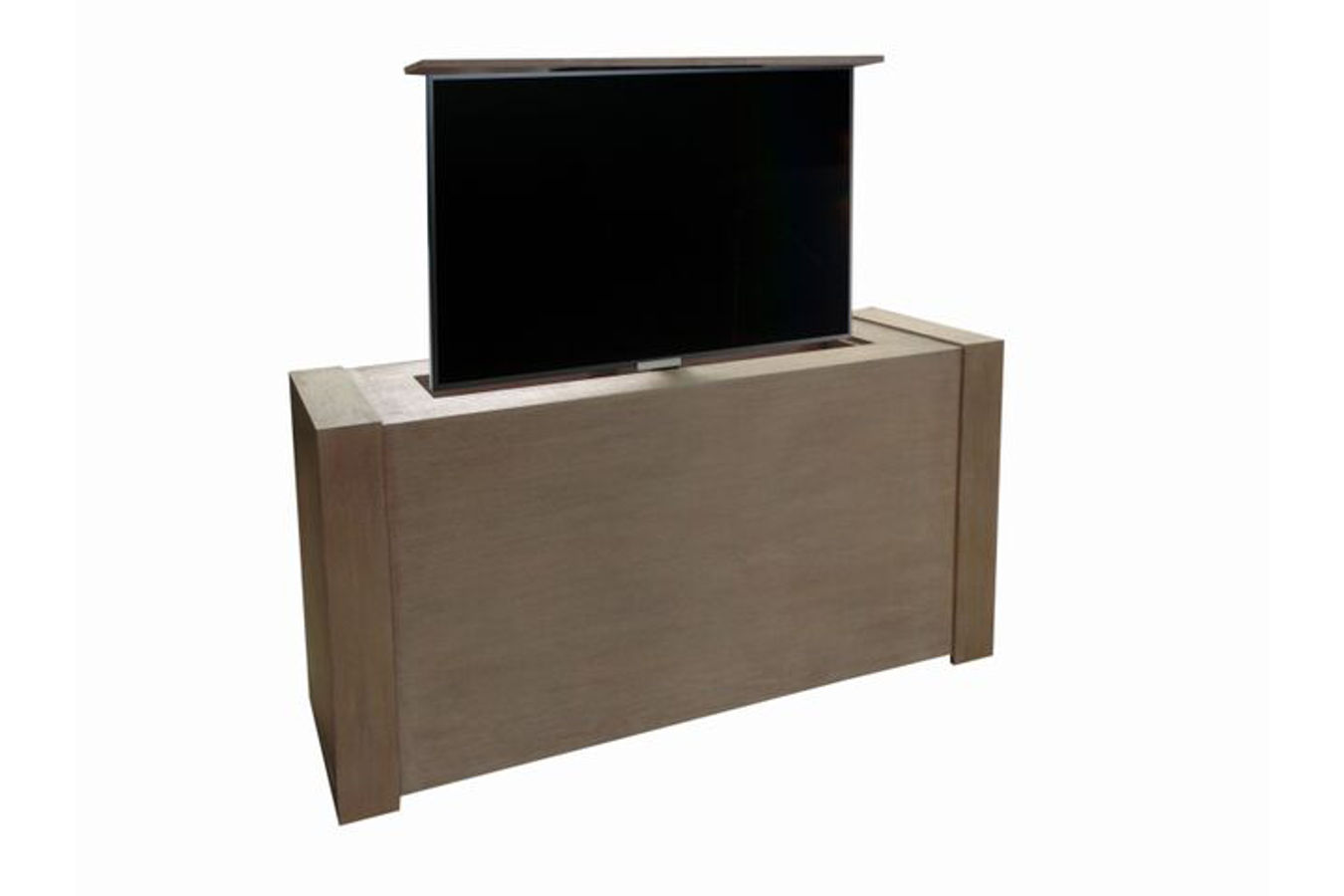 modern studio tv lift cabinet custom made tv lift. Black Bedroom Furniture Sets. Home Design Ideas