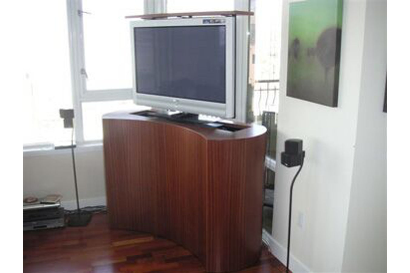 Browse More #603830 Custom Tv Stand Custom Made Tv Stands Coast Retractable  Tv Stand With