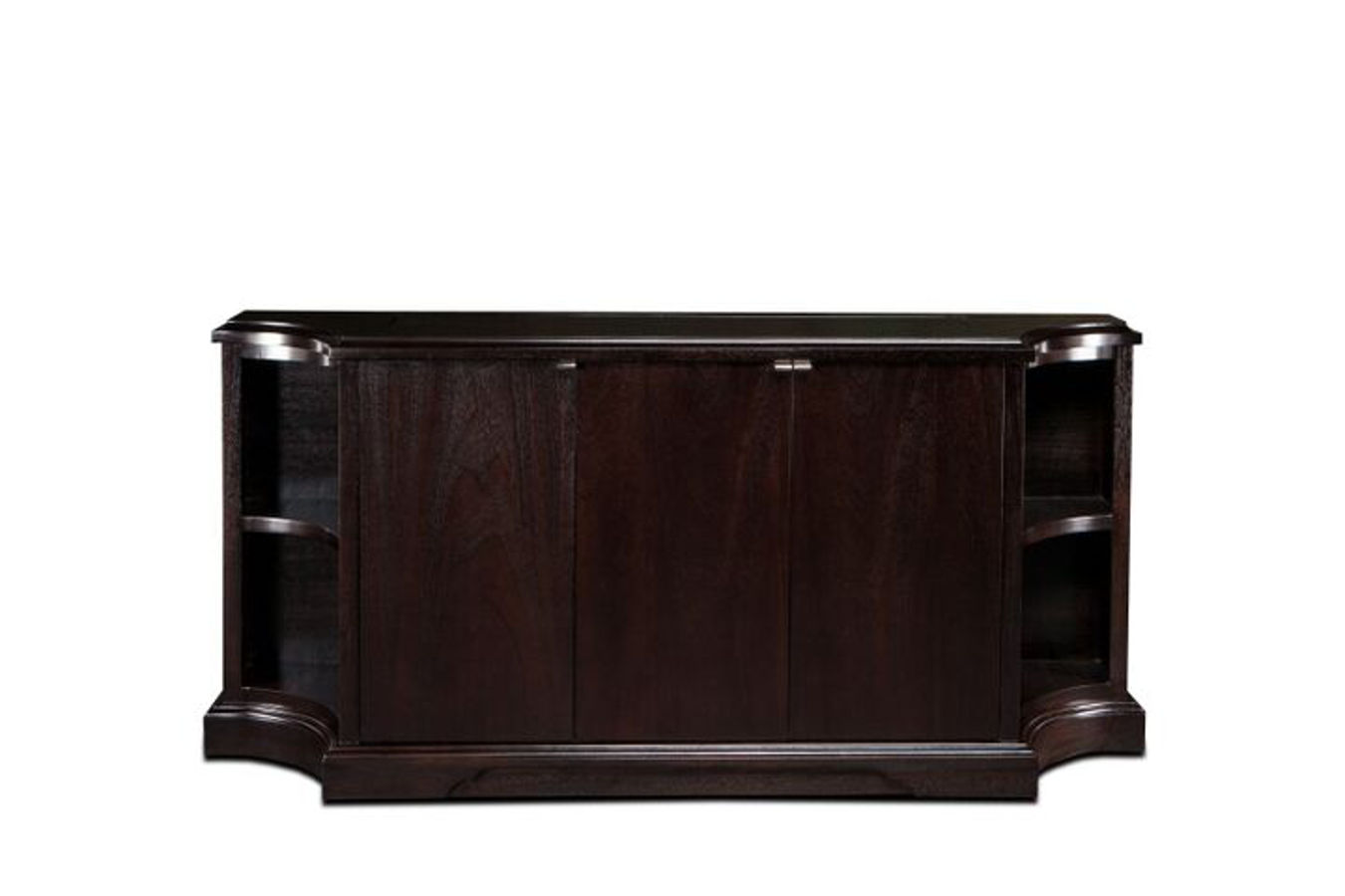 Flat screen tv riser carlton credenza tv lift cabinets for Tv cabinets hidden flat screens