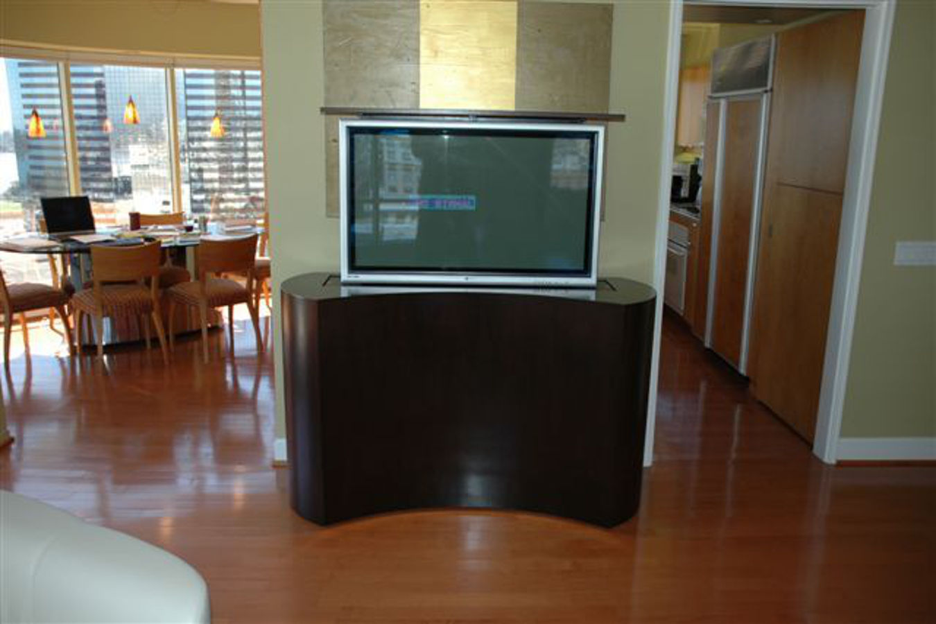 Browse More #968335 Bedroom TV. How To Install The Retractable TV Stand  Retractable Tv