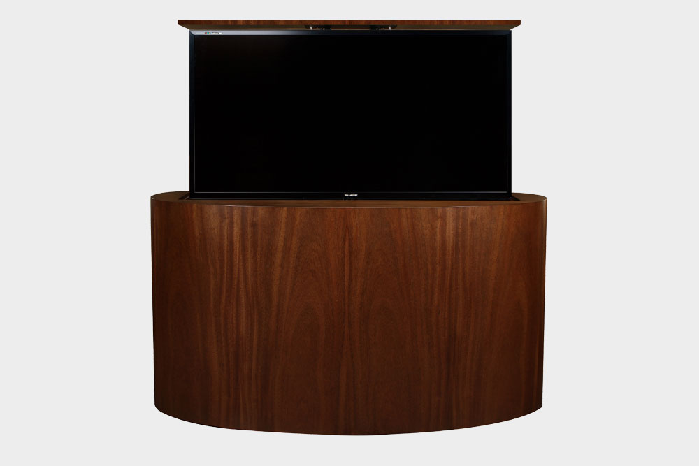 Large Flat Screen TV Lift Furniture Cabinets