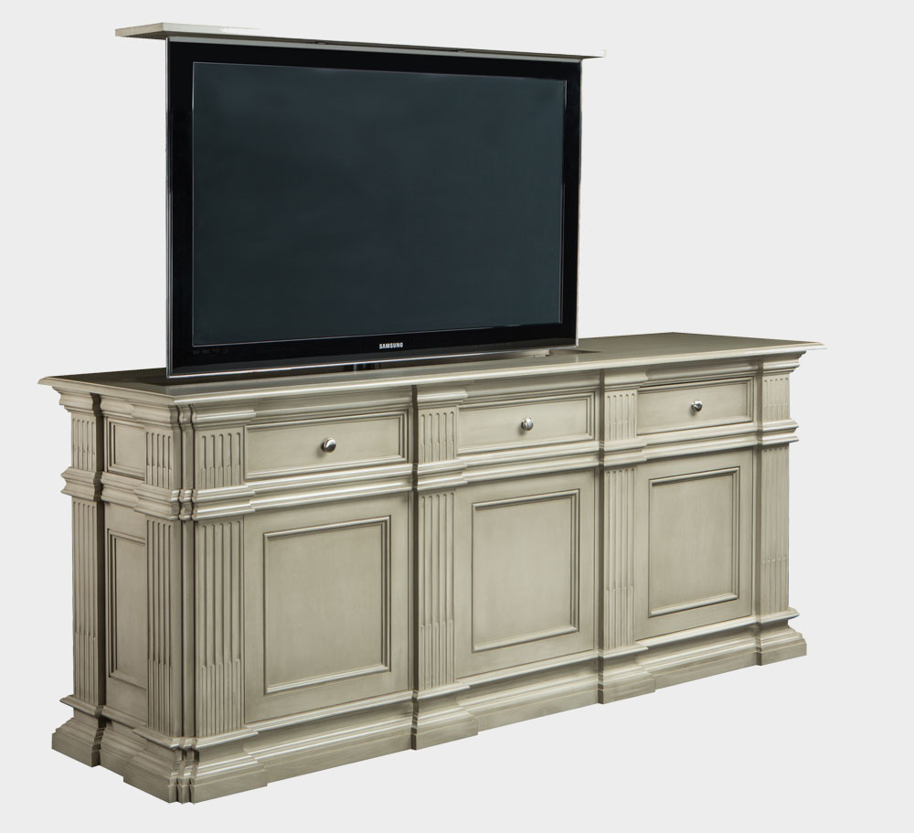 Hideaway tv cabinets flat screens fanti blog for Tv cabinets hidden flat screens