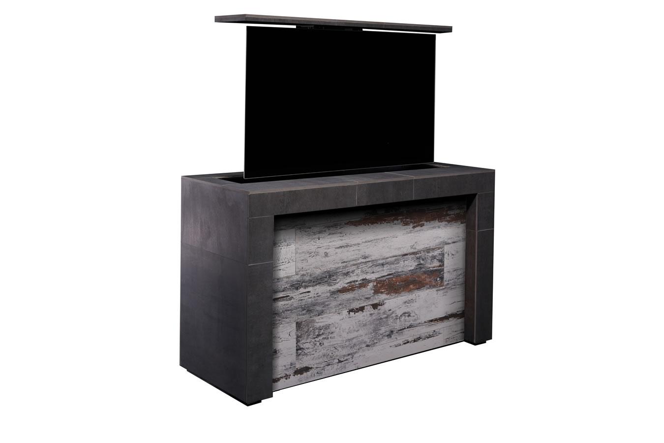 Outdoor Mamawood Mantel Porcelain Tile Tv Lift Cabinet Furniture