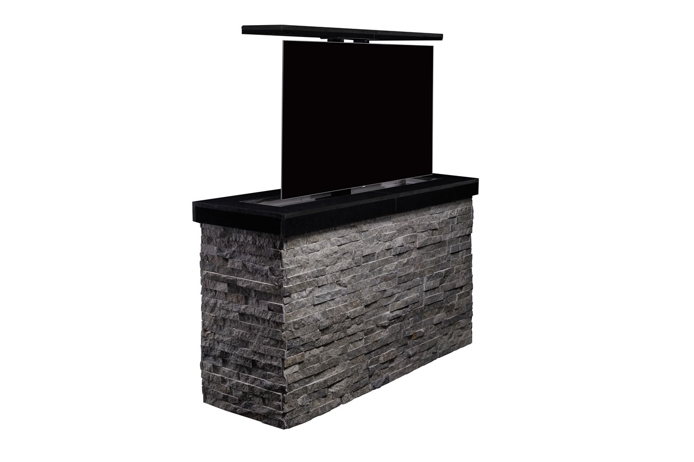 Cabinet Tronix Outdoor Hidden Tv Lift Furniture Island Protects 55 Inch And Hides It Away