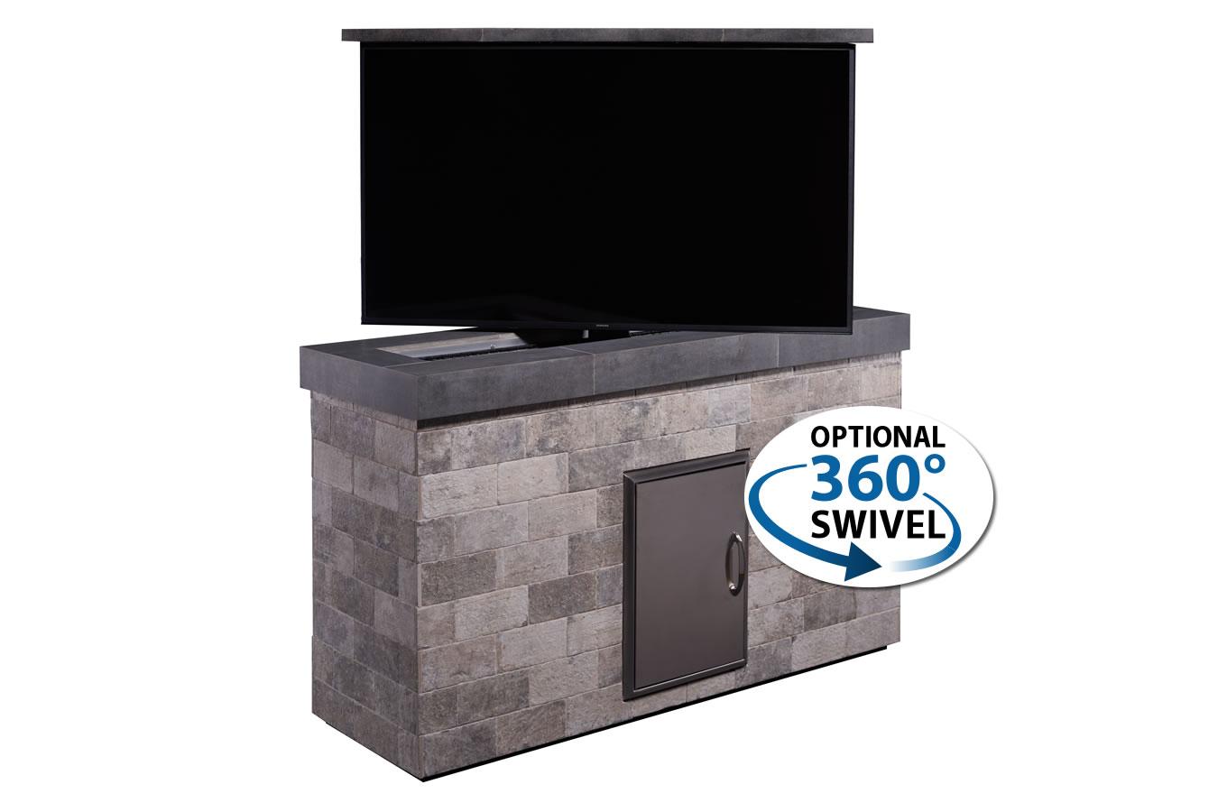 Outdoor Popup Tv Brick Tv Lift Cabinet