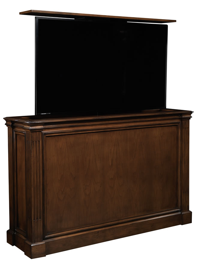 65 inch flat screen TV lift furniture Ritz transitional