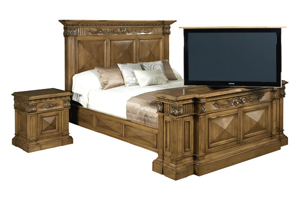 Complete Bedrooms Sets with TV Lift