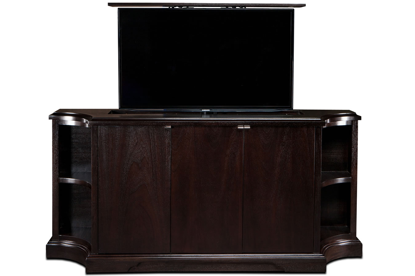 Custom tv cabinets custom tv lift cabinet furniture designs for Tv cabinet plans