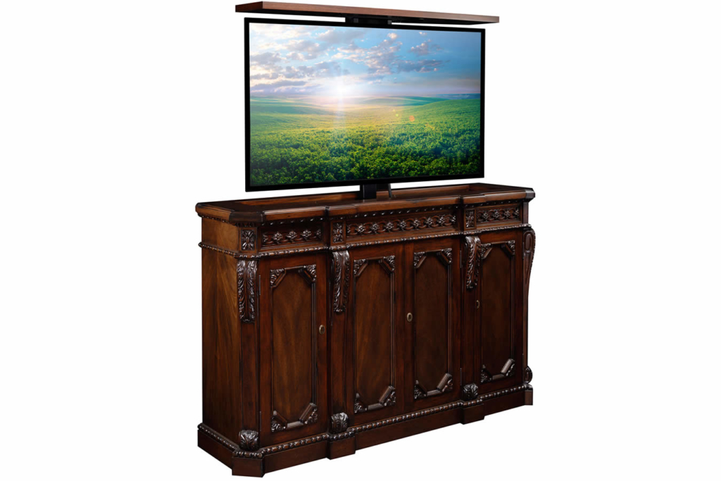 Custom Designed Flat Screen Tv Lift Furniture