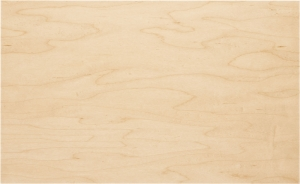 Clear Maple Finish