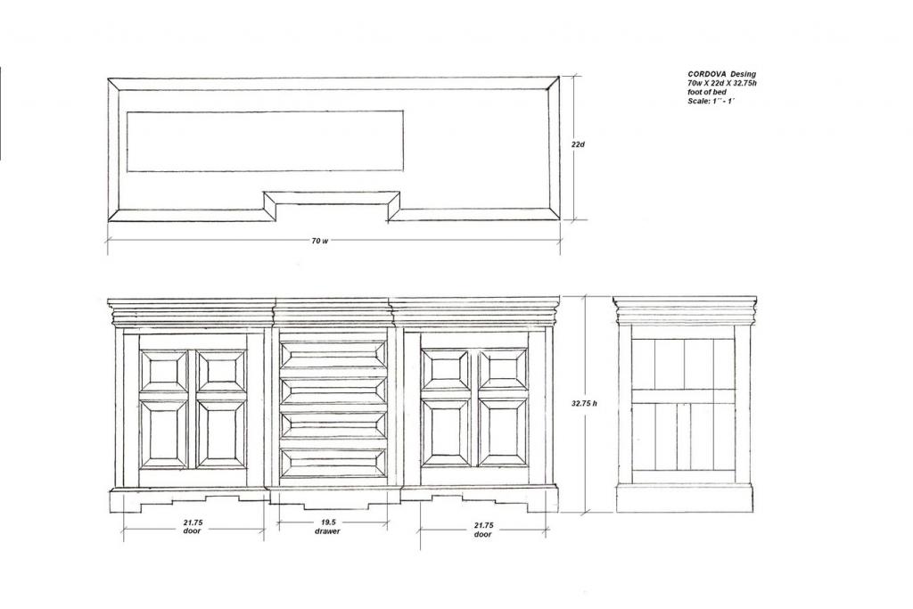 Cordova cabinet designs