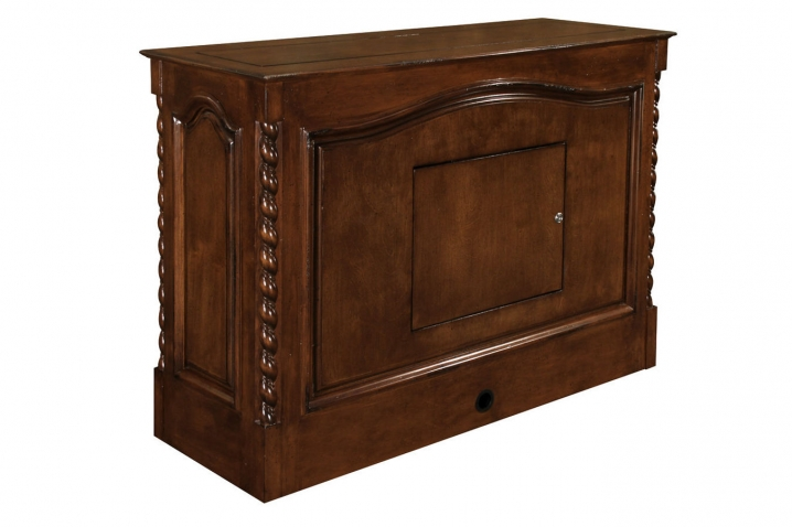 Back side of Coronado Antique Caramel furniture.  Finish on all sides is same high quality.