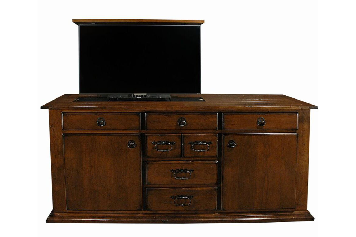 Country Meadow Furniture that hides a TV