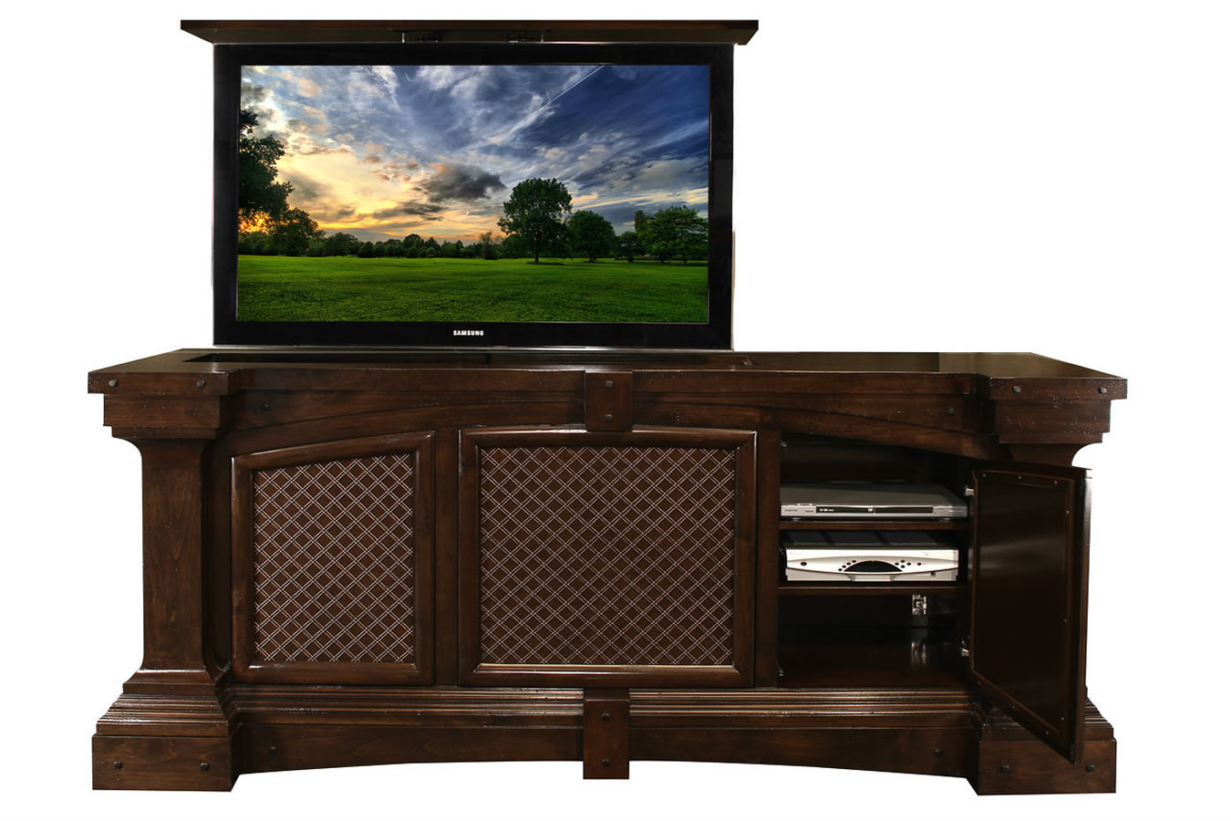 Us Made Tv Lifts Fairbanks Motorized Tv Lift Cabinet