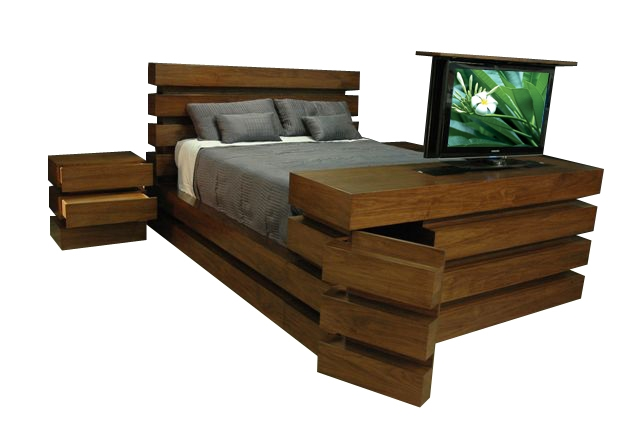 Le Bloc Tv Lift Bedroom Set
