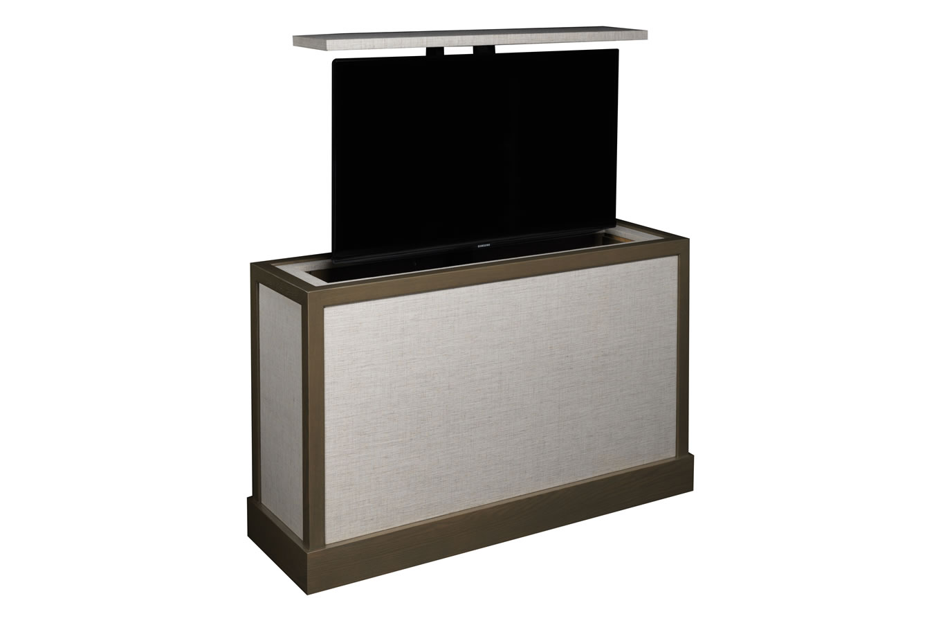 End Of Bed Tv Lift Aqualina End Of Bed Tv Stand