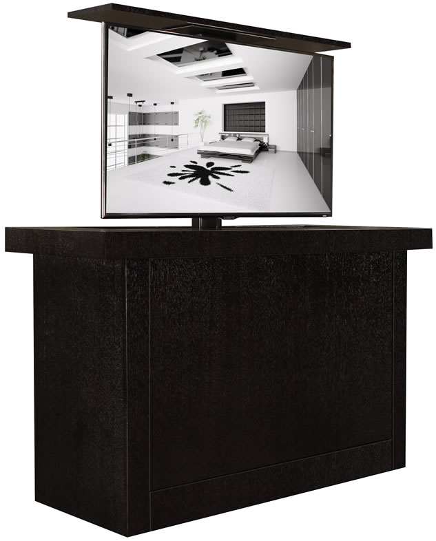 Main Titan ebony TV lift cabinets