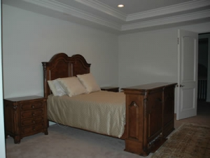Melrose Bed set photo before decorations