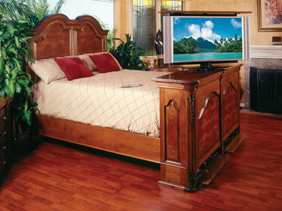 Melrose Complete Bed Set With Night Stands Cabinet Tronix