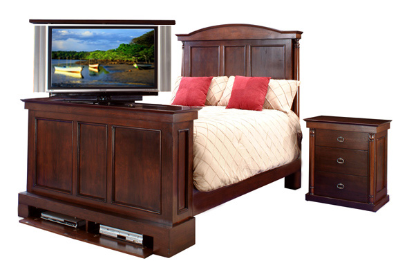 bed with tv lift 28 images foot of the bed tv lift. Black Bedroom Furniture Sets. Home Design Ideas