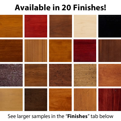 20 Modern Finishes Available