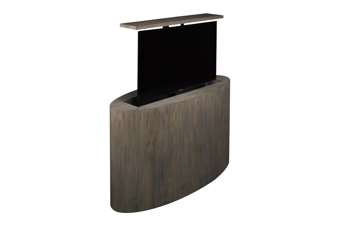 Atlantis Custom Modern Motorized Tv Lift Cabinet
