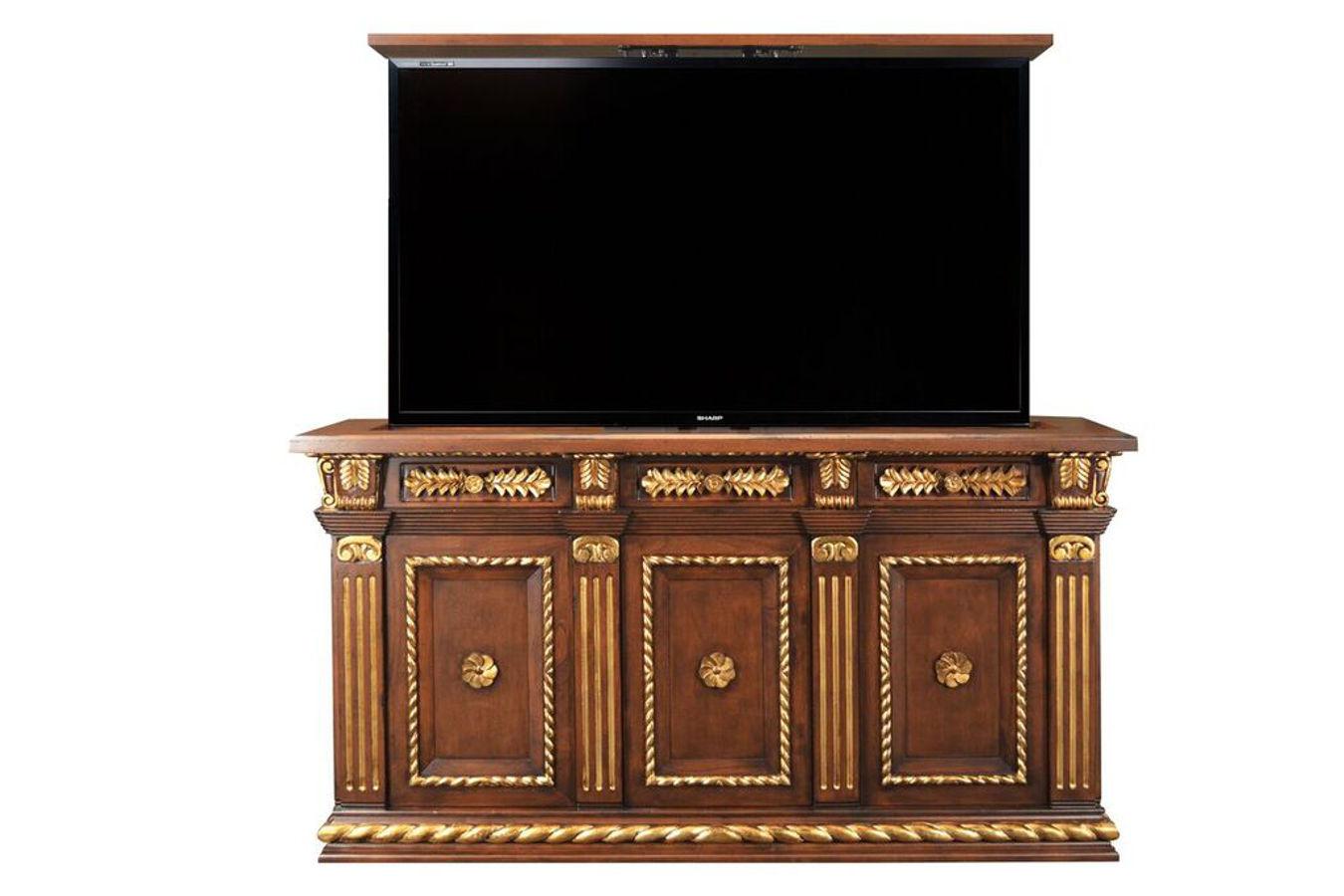 Napoleon Gold Motorized Tv Lift Cabinet Cabinet Tronix