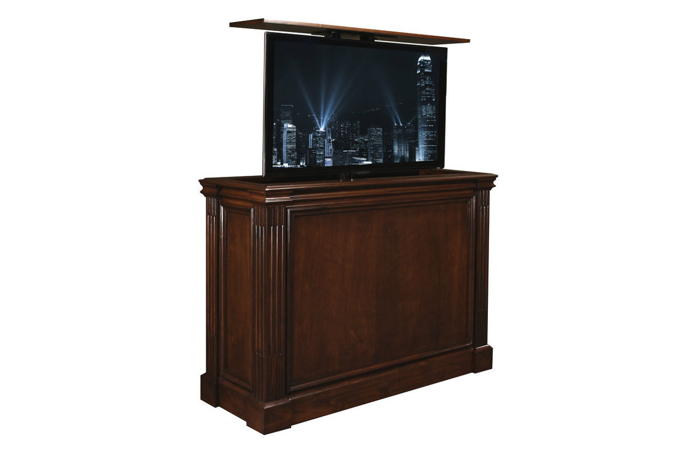 ikea popup tv lift cabinet interessante. Black Bedroom Furniture Sets. Home Design Ideas