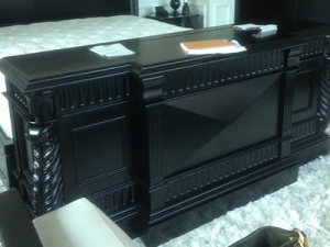 Rosela retractable tv furniture at trump hotel