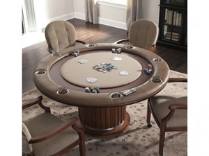 Speakeasy Poker Table with top down