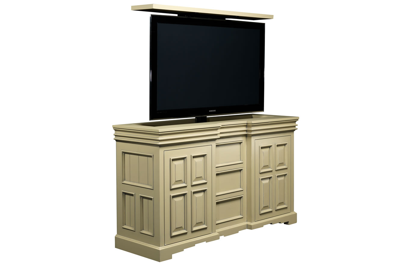 cordova pop up tv lift cabinet cabinet tronix. Black Bedroom Furniture Sets. Home Design Ideas