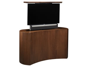 TV lift cabinet with Sonos Playbar sound bar