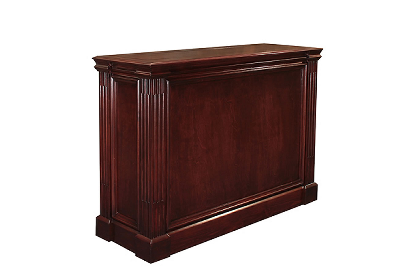 executive tv lift rich mahogany