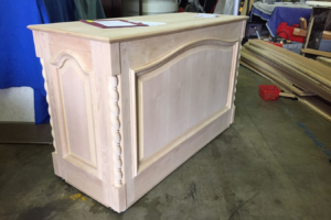 unfinished tv lift cabinet 01